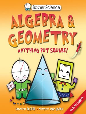 cover image of Basher Science--Algebra and Geometry