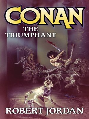 cover image of Conan the Triumphant