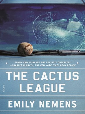The Cactus League Book Cover