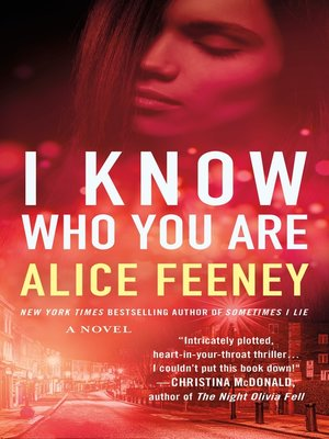 cover image of I Know Who You Are