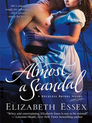 cover image of Almost a Scandal