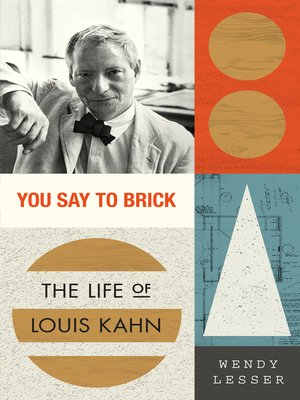 cover image of You Say to Brick