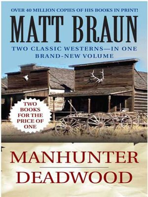 cover image of Manhunter / Deadwood