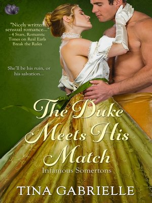 cover image of The Duke Meets His Match