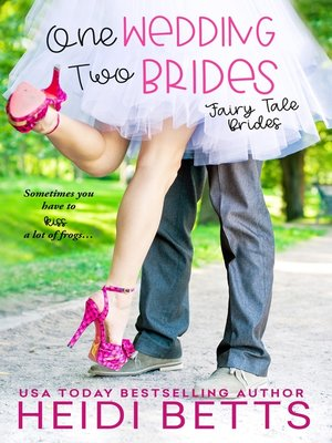 cover image of One Wedding, Two Brides