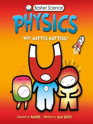 cover image of Basher Science--Physics