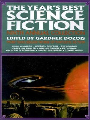 cover image of The Year's Best Science Fiction, Ninth Annual Collection