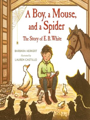 cover image of A Boy, a Mouse, and a Spider