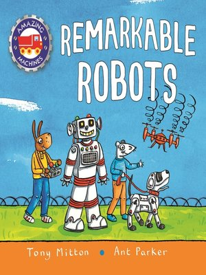 cover image of Amazing Machines: Remarkable Robots