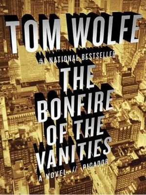 cover image of The Bonfire of the Vanities
