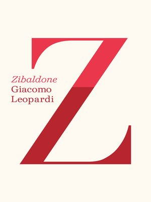 cover image of Zibaldone