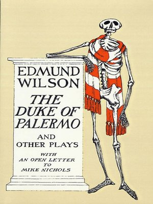 cover image of The Duke of Palermo and Other Plays