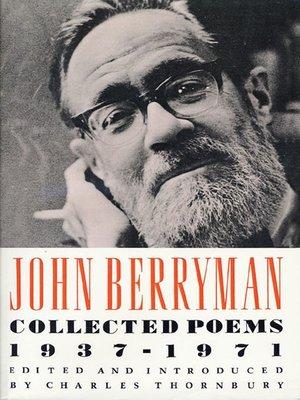 cover image of John Berryman