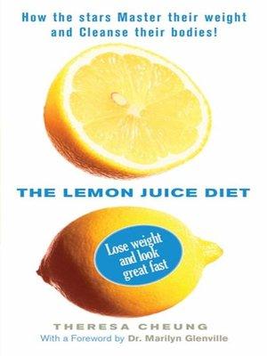 cover image of The Lemon Juice Diet