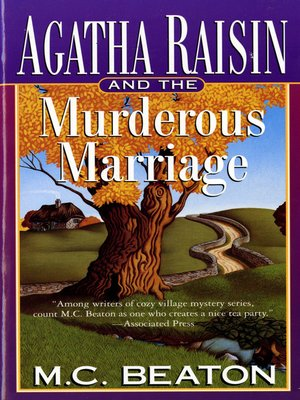 cover image of Agatha Raisin and the Murderous Marriage