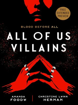 cover image of All of Us Villains Sneak Peek