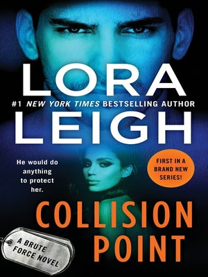 cover image of Collision Point--A Brute Force Novel