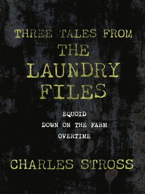 cover image of Three Tales from the Laundry Files