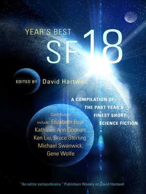 cover image of Year's Best SF 18