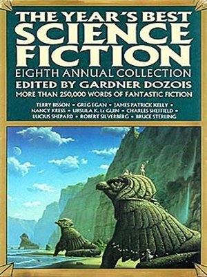 cover image of The Year's Best Science Fiction, Eighth Annual Collection