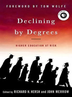 cover image of Declining by Degrees