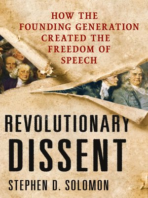 cover image of Revolutionary Dissent