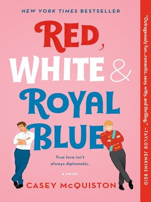 cover image of Red, White & Royal Blue