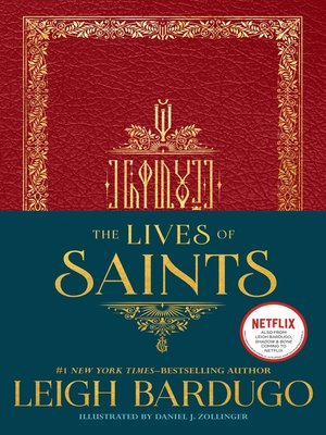 cover image of The Lives of Saints