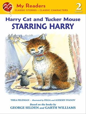 cover image of Harry Cat and Tucker Mouse