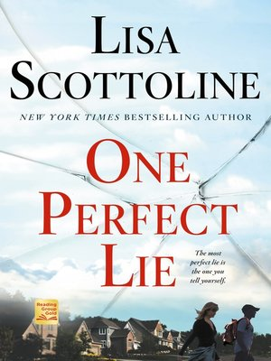 cover image of One Perfect Lie