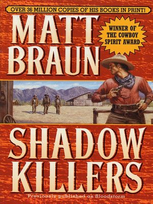 cover image of Shadow Killers