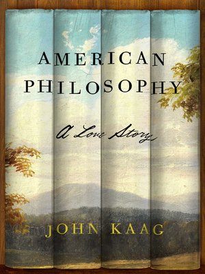 cover image of American Philosophy