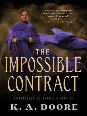 cover image of The Impossible Contract