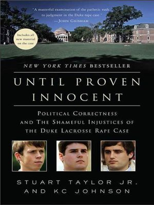 cover image of Until Proven Innocent