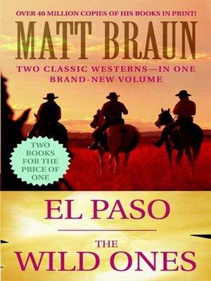 cover image of El Paso / the Wild Ones