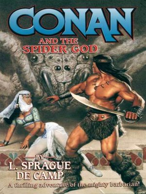 cover image of Conan and the Spider God