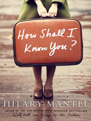 cover image of How Shall I Know You?--A Short Story