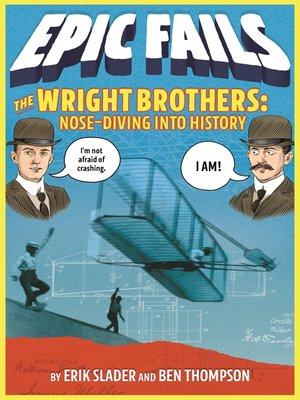 cover image of The Wright Brothers--Nose-Diving into History (Epic Fails #1)