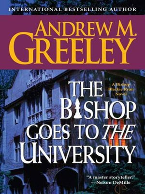cover image of The Bishop Goes to the University