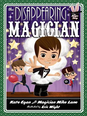 cover image of The Disappearing Magician