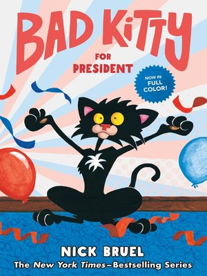 cover image of Bad Kitty for President