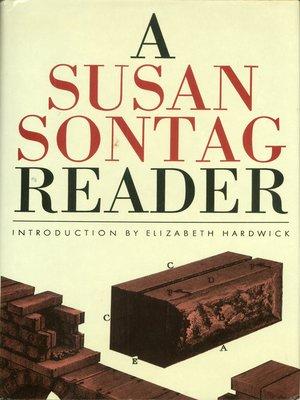 Susan Sontag Ebook