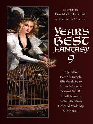 cover image of Year's Best Fantasy 9