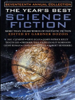 cover image of The Year's Best Science Fiction, Seventeenth Annual Collection