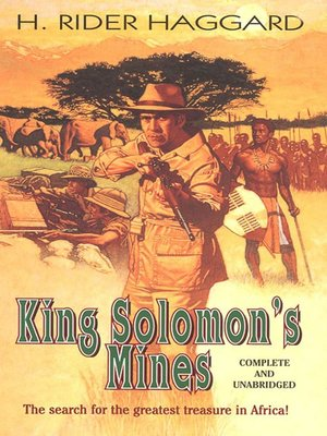 cover image of King Solomon's Mines