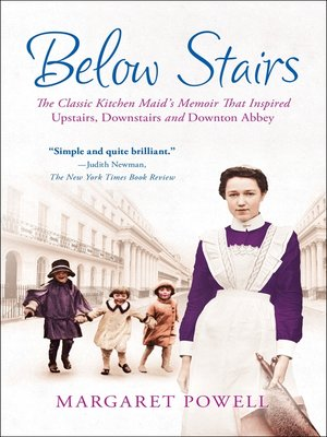 cover image of Below Stairs