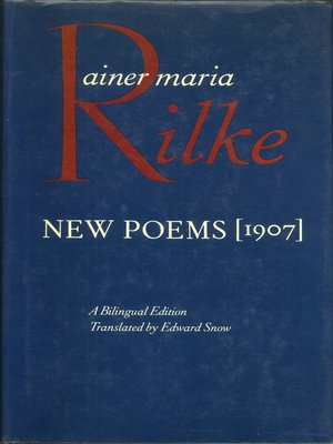 cover image of New Poems, 1907
