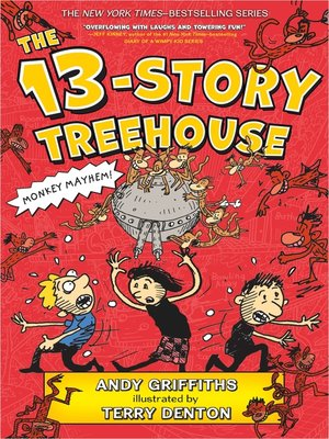 cover image of The 13-Story Treehouse