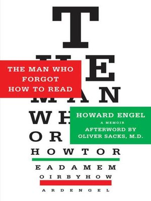 cover image of The Man Who Forgot How to Read