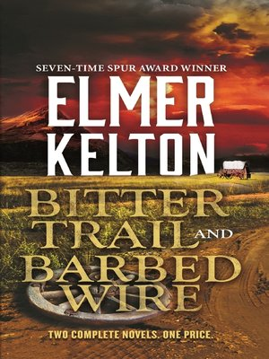 cover image of Bitter Trail and Barbed Wire